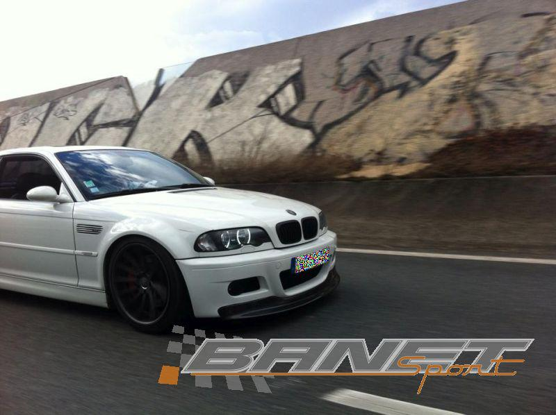 BMW M3 E46 Pure White Carbone